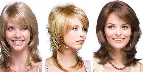 Виды причесок на средней длины волосы