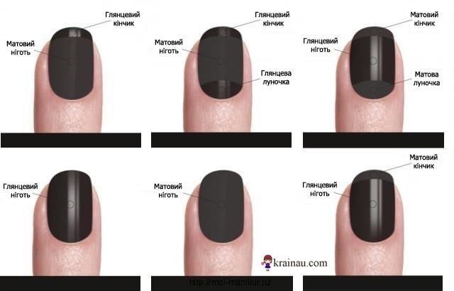 Как сделать ногти матовыми